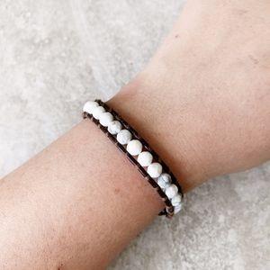 Chan Luu White Howlite Single Bracelet